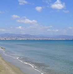 Lady Miles beach strand Cyprus