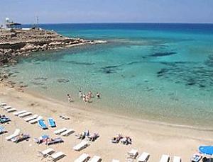 Stranden Cyprus Pafos Paphos Bekijk De Stranden Op Pafos